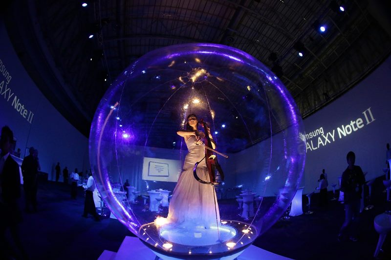 Cello in a Bubble