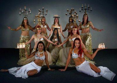 Belly Dancers Gold